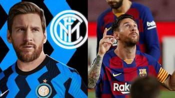 برشلونة يهدد بمقاضاة إدارة إنتر ميلان بسبب إعلان ميسي