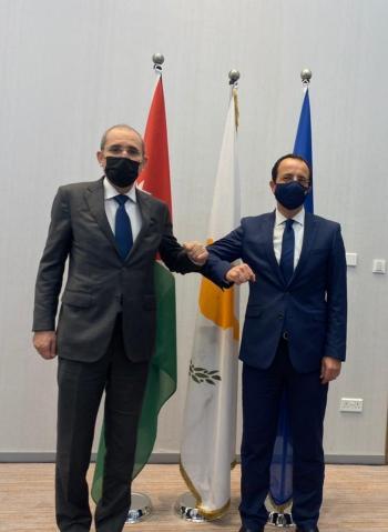 الأردن يؤكد ضرورة ايجاد حل تفاوضي لـ المسألة القبرصية