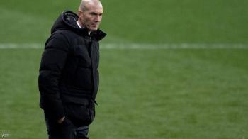 زيدان يبدي أسفه على الهزيمة ..  والصورة السيئة لريال مدريد