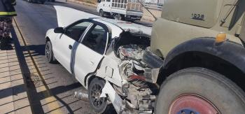 5 اصابات بحادث تصادم في الزرقاء