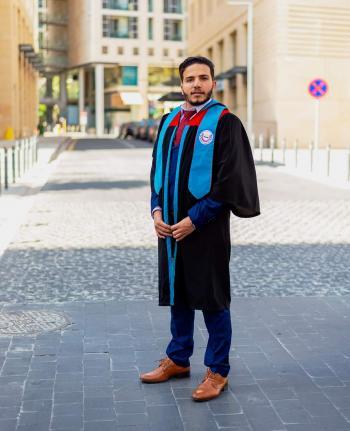 علي سعد الزبون مبارك التخرج