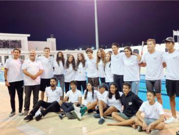 منتخب السباحة يحصد 37 ميدالية في البطولة العربية