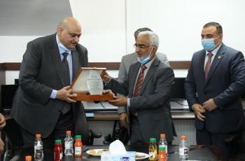 توقيع مذكرة التفاهم بين (اياف) والمجلس العربي للاختصاصات الصحية