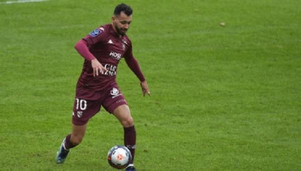 فريد بولحية لاعب ميتز الفرنسي