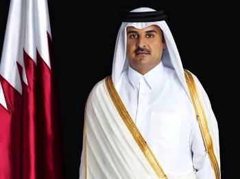 أمير قطر يكرم 3 ضباط أردنيين