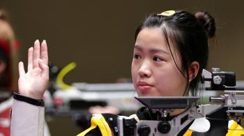 الصينية كيان يانغ تحرز أول ذهبية في أولمبياد طوكيو
