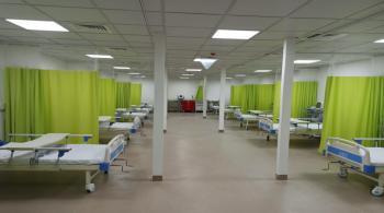 المستشفى الميداني العسكري في الزرقاء يبدأ باستقبال مصابي كورونا