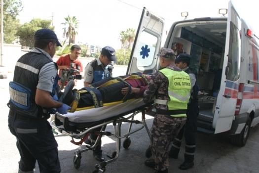 وفاة و6 اصابات بحادثين منفصلين في مأدبا والبلقاء