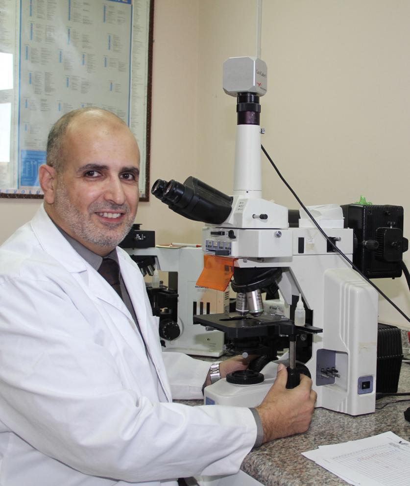 مطالقة مديرا طبيا للشؤون الدولية في الكلية الملكية البريطانية لعلم الأمراض
