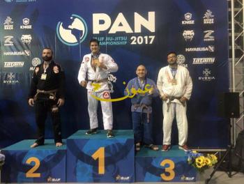 الاردني الفاخوري يحرز ذهبية بطولة العالم للمحترفين في ال-جيو جيتسو