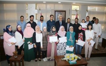 الثقافة تكرم الفائزين بجوائز مسابقة الابداع الشبابي