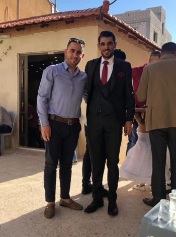 أحمد عوض الدهامشة ..  مبارك الزفاف