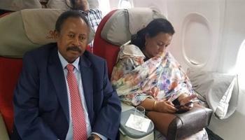 مكتب رئيس الحكومة السودانية يتحدث عن مصير حمدوك وزوجته (بيان)