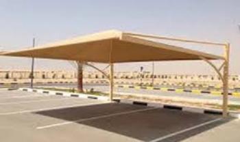 مطلوب تركيب مظلة حديد لمبنى رعاية الفتيات في الرصيفة