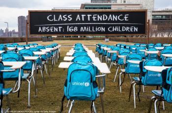 اليونيسيف: كورونا تسببت بإغلاق المدارس امام اكثر من 168 مليون طالب