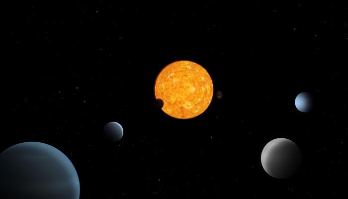 اكتشاف 6 كواكب تتحرك بتناغم خارج نظامنا الشمسي