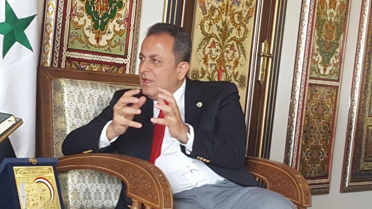 القائم بالسفارة السورية: إغلاق معبر نصيب تم بضغوط خارجية على الأردن