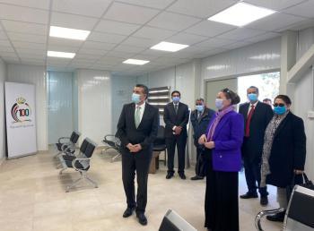 افتتاح مكتب لخدمة الجمهور أمام وزارة الخارجية