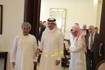 السفير الكويتي يجمع السفراء العرب في عمان