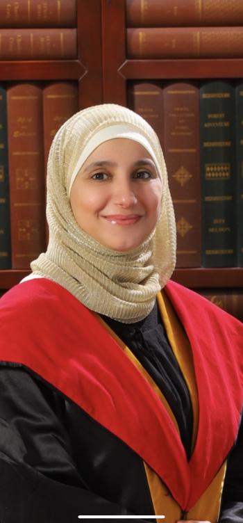 الدكتورة باسمة الشقيرات  .. مبارك الترقية
