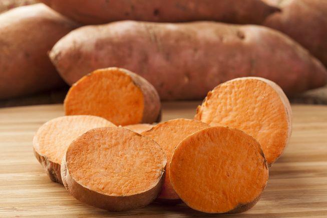 البطاطا الحلوة للشعور بالشبع لمدة أطول