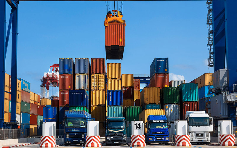 الميزان التجاري بين الأردن والاتحاد الأوروبي يميل لصالح الاتحاد