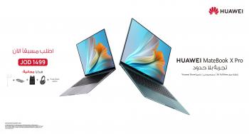حاسوب HUAWEI MateBook X Pro 2021 متاح للطلب المسبق في الأردن