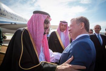 مقتطفات من استقبال الملك سلمان (صور، فيديو)
