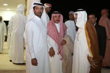 العطية يولم لسفراء ودبلوماسيي الخليج