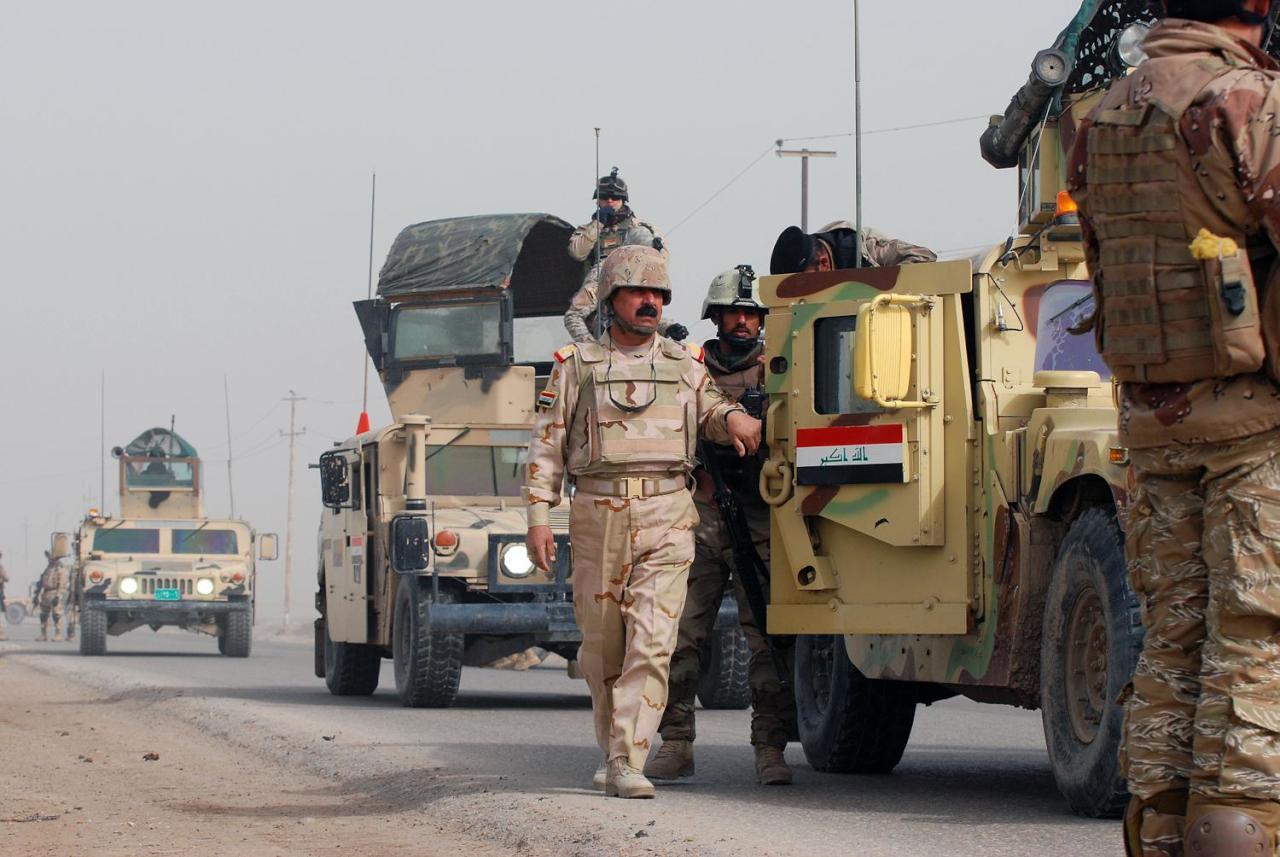 القوات العراقية تقتحم معقل داعش في تلعفر
