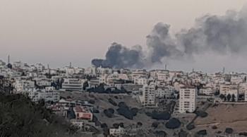 حريق كبير بمنزل قرب الدوار السابع