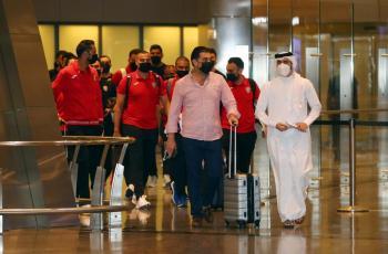 بعثة النشامى تصل الدوحة