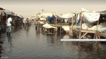 فيضانات في نواكشوط بعد أمطار استثنائية