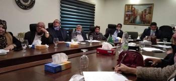 جرائم شبكات التواصل الاجتماعي ورشة عمل في اتحاد المجد العربي