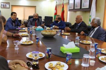 الشوبكي يلتقي اللجنة العليا لشؤون المتقاعدين العسكريين