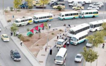 اللوزي: اعادة النظر بتعرفة النقل العام في شباط