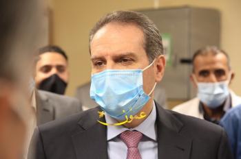 وزير الصحة يتفقد مستشفى الأمير حمزة