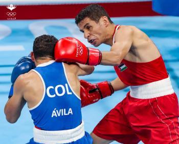 الملاكم الأردني محمد الوادي يودع أولمبياد طوكيو مبكرا