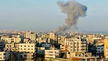 مصر تدعو لوقف اطلاق النار في فلسطين