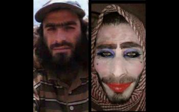القبض على أغبى داعشي فر من الموصل (صور)