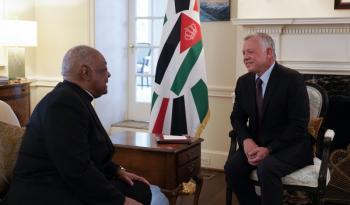 الملك ورئيس أساقفة واشنطن يبحثان ميزات الأردن كوجهة للسياحة الدينية المسيحية