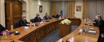 الصفدي يبحث مع المبعوث الروسي الازمة السورية