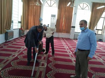 العقيل: نظافة وصيانة المساجد من أجلّ الأعمال وأشرفها