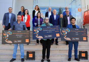 أورنج تعلن الفائزين بالنسخة الخامسة لجائزة مشاريع التنمية المجتمعية