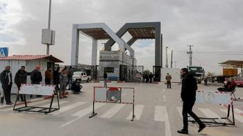 إعادة اغلاق معبر رفح الحدودي بين غزة ومصر