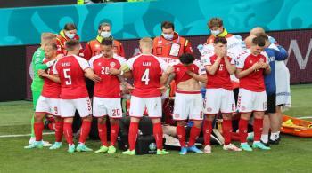 إنعاش قلبي رئوي للدنماركي إريكسن في أثناء مباراة في بطولة أوروبا