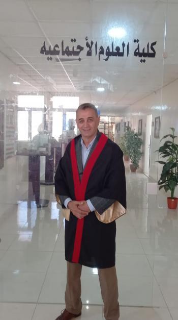 الدكتوراه لـ احمد توفيق المجالي