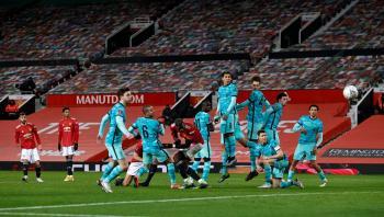 مانشستر يونايتد يقصي ليفربول من كأس الاتحاد