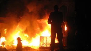 وفاة سبعيني إثر حريق منزل في اربد