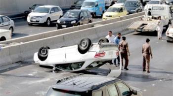 511 ألف حادث مروري سنوياً في السعودية